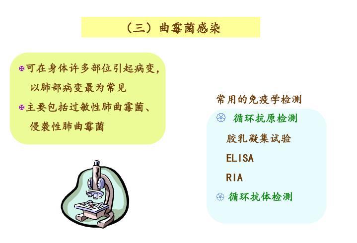 (三)曲霉菌感染