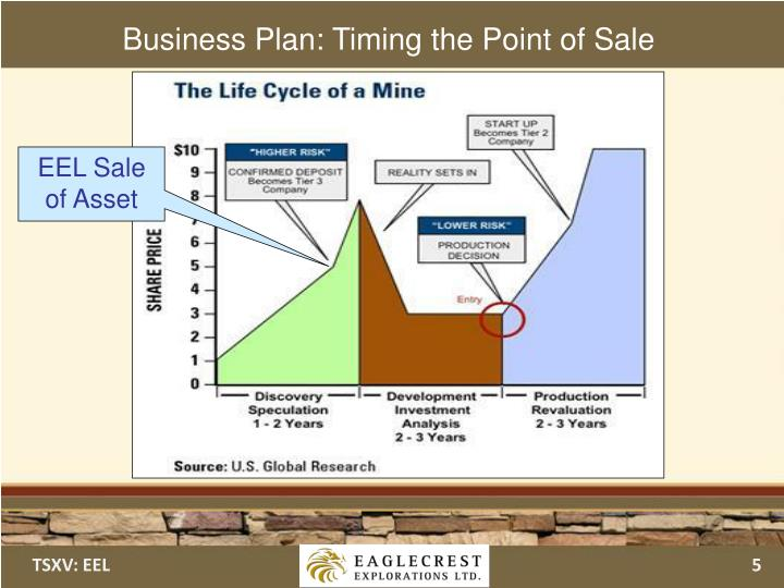 Business Plan: Timing the Point of Sale