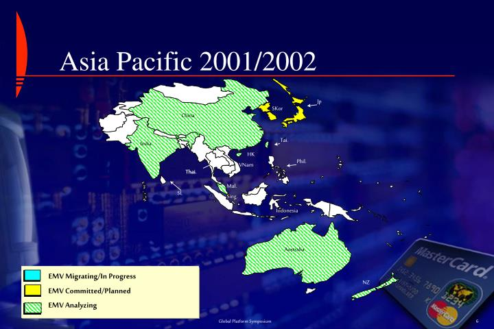 Asia Pacific 2001/2002