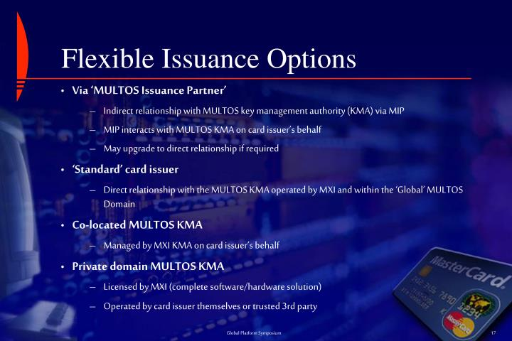 Flexible Issuance Options