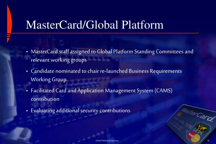 MasterCard/Global Platform
