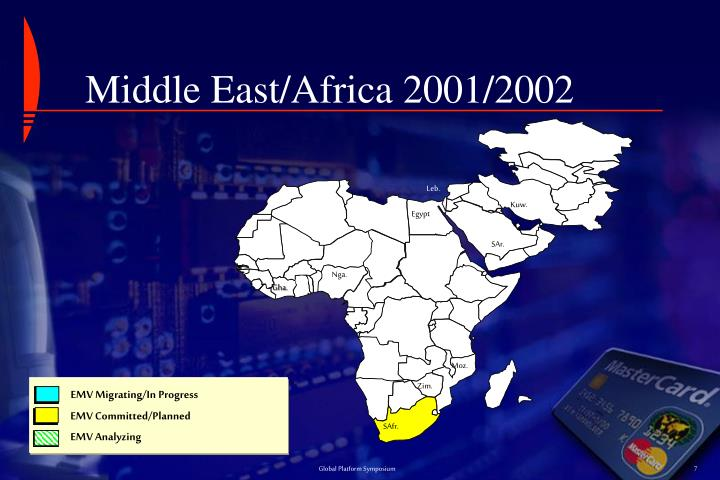 Middle East/Africa 2001/2002