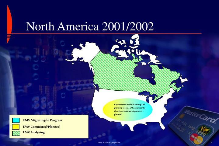 North America 2001/2002
