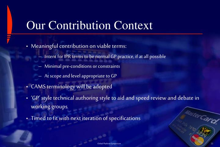 Our Contribution Context