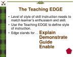 the teaching edge1
