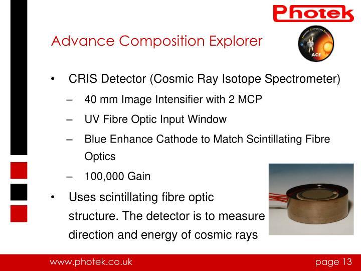 Advance Composition Explorer