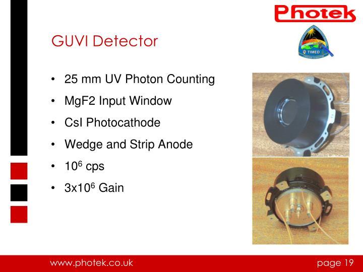 GUVI Detector