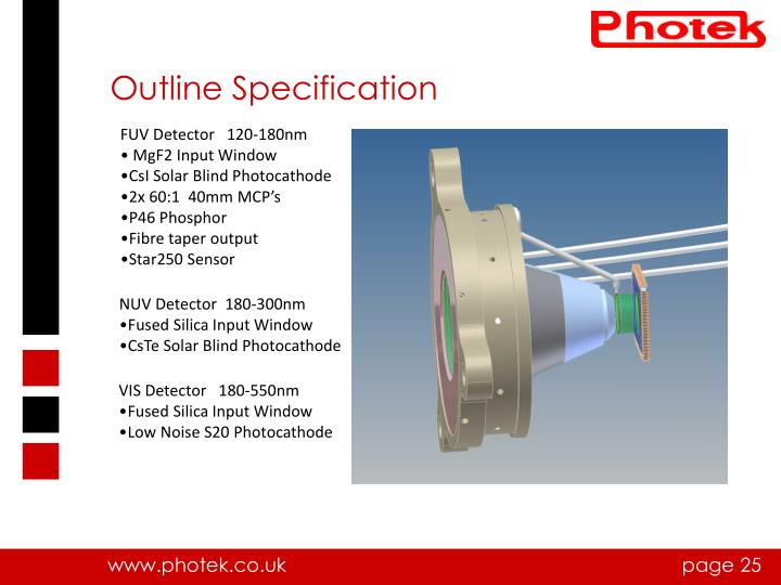 Outline Specification