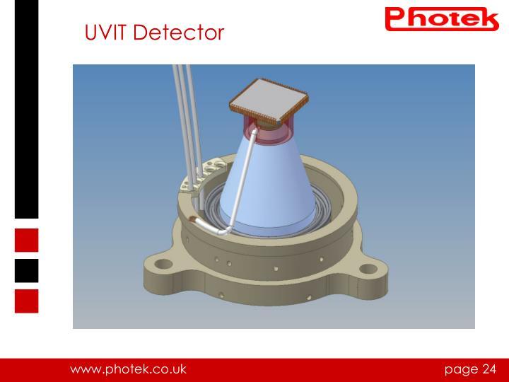 UVIT Detector