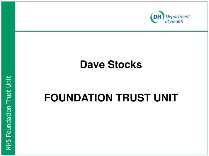 Dave Stocks
