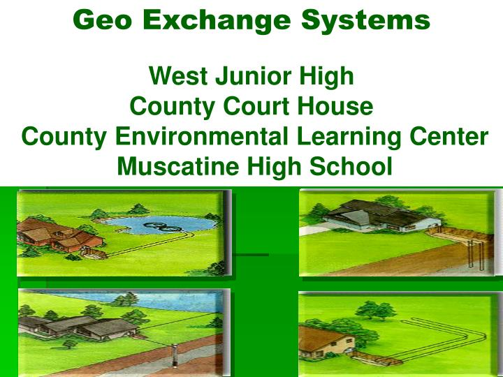 Geo Exchange Systems