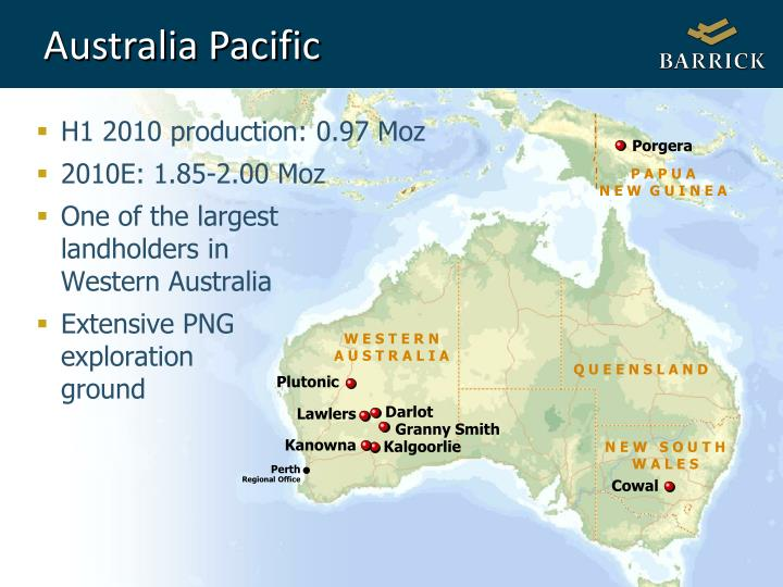 Australia Pacific
