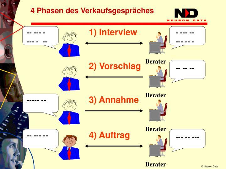 1) Interview