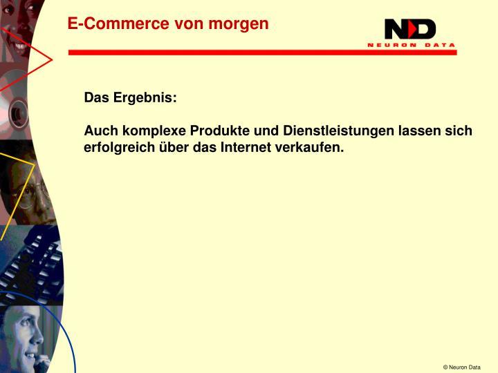 E-Commerce von morgen