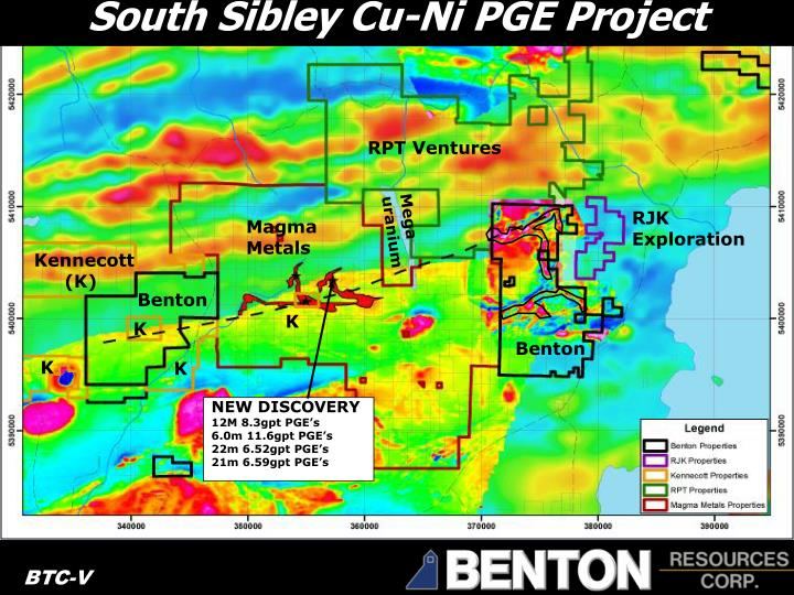 South Sibley Cu-Ni PGE Project