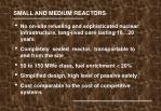 small and medium reactors