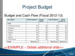 project budget1