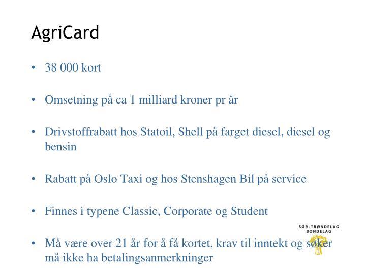 AgriCard