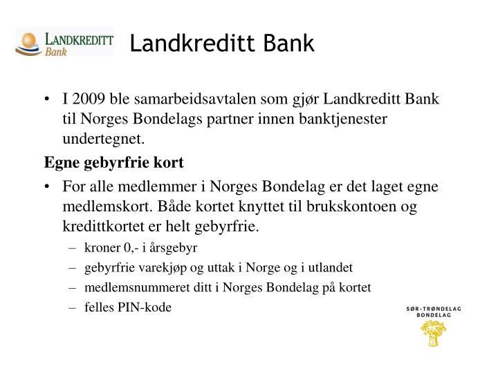 Landkreditt Bank