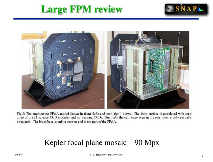 Large FPM review