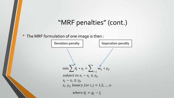 """MRF penalties"" (cont.)"