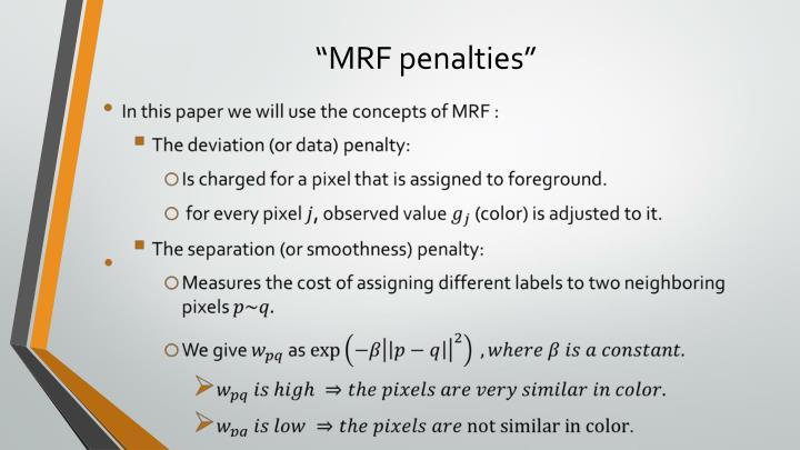 """MRF penalties"""