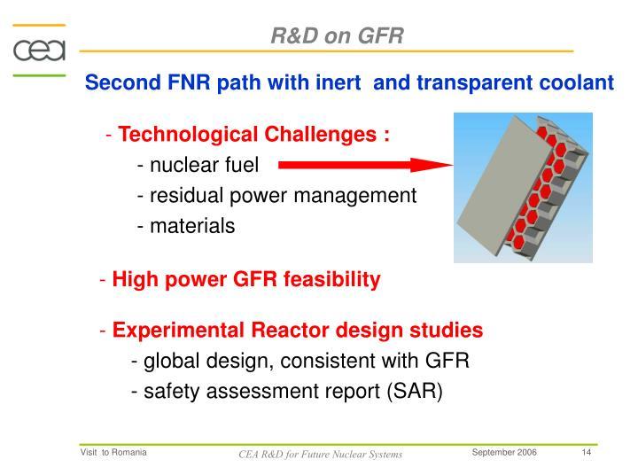 R&D on GFR