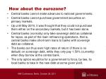 how about the eurozone