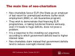 the main line of neo chartalism