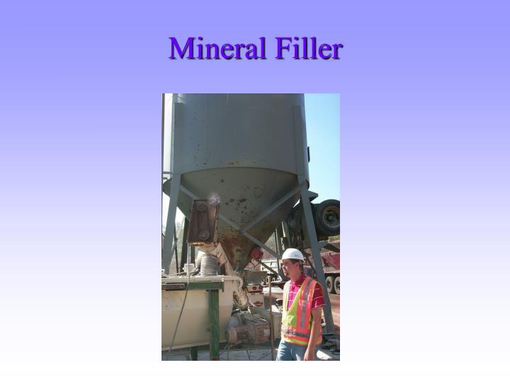 Mineral Filler