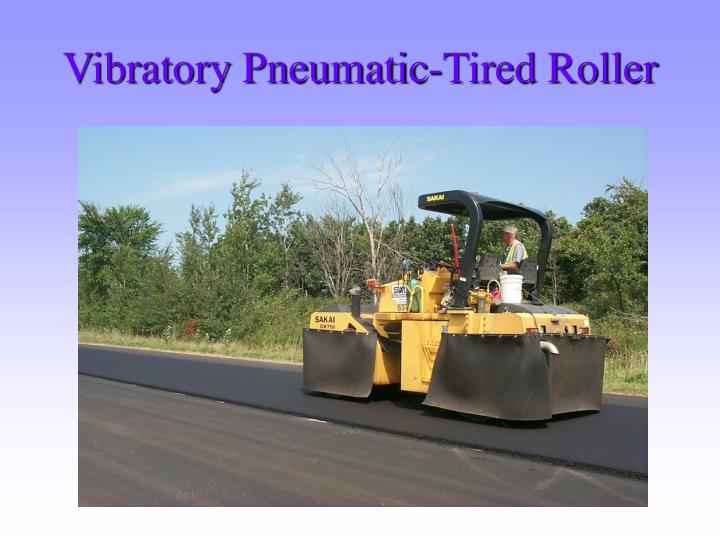 Vibratory Pneumatic-Tired Roller