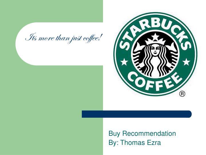 buy recommendation by thomas ezra