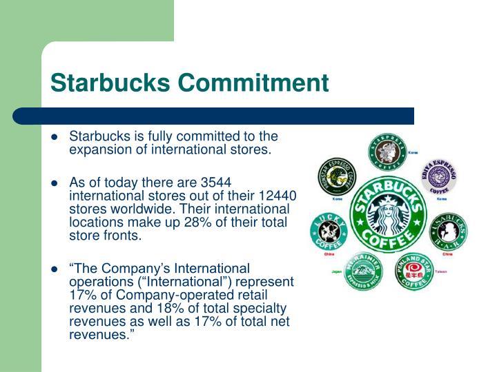 Starbucks Commitment