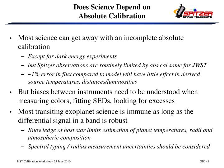 Does Science Depend on