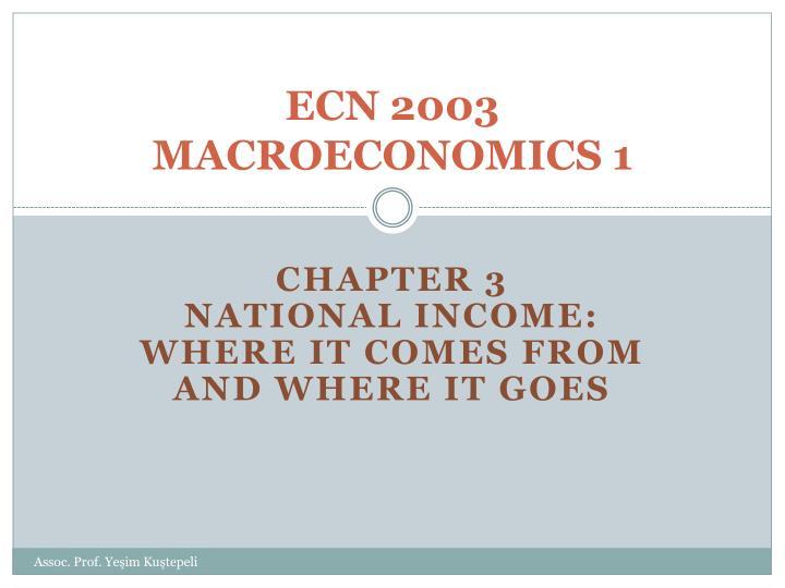 ECN 2003
