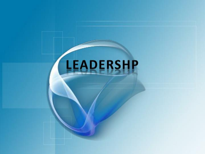 leadershp