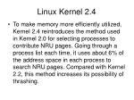 linux kernel 2 4