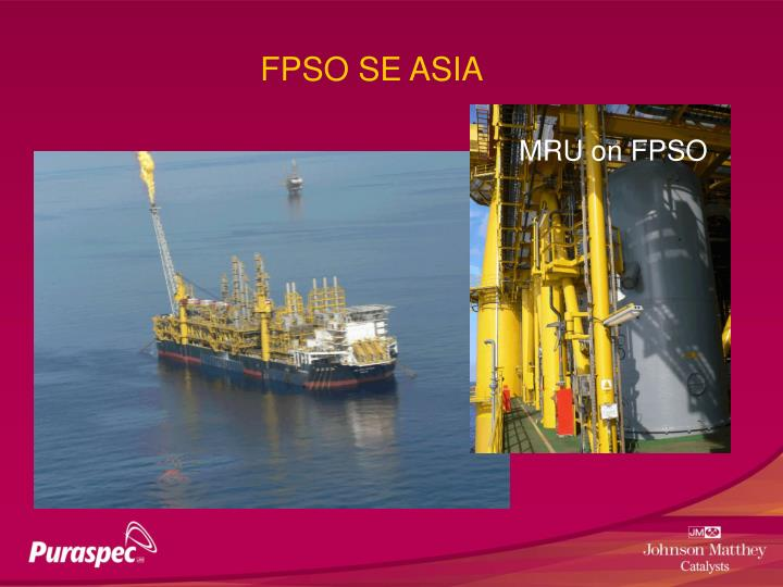 FPSO SE ASIA
