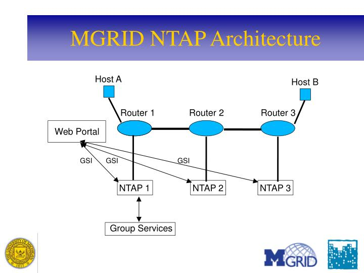 MGRID NTAP Architecture