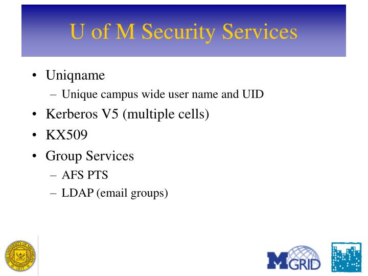 U of M Security Services