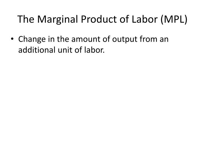 The Marginal