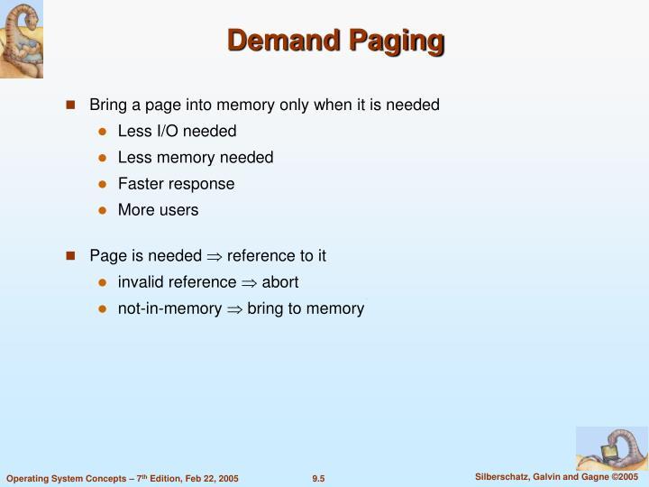 Demand Paging