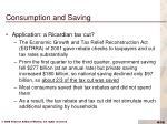 consumption and saving10