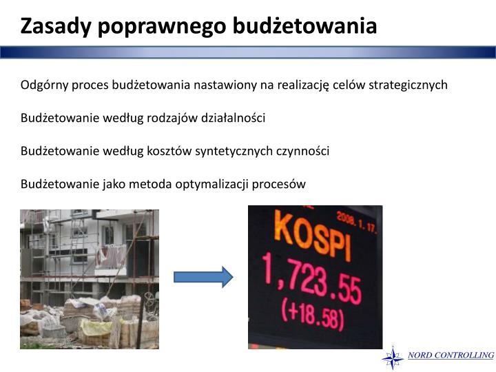 Zasady poprawnego budżetowania