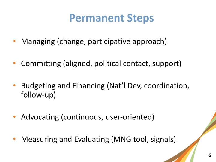 Managing (change, participative approach)