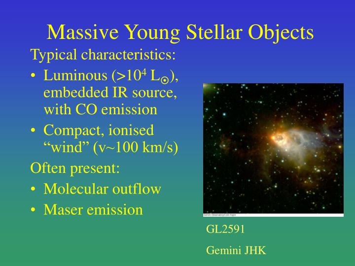 Massive young stellar objects