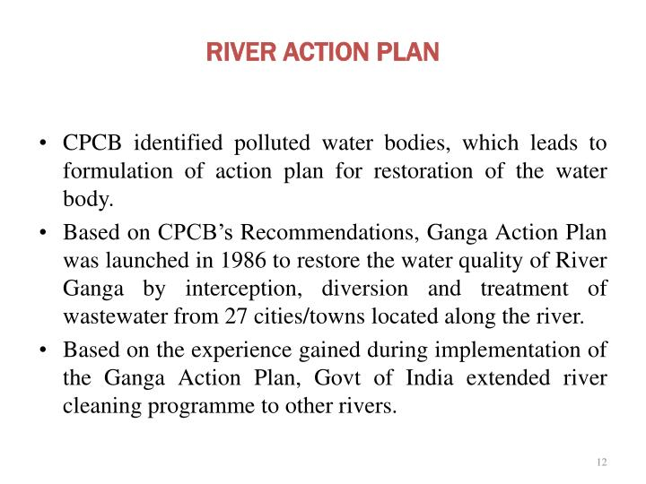 RIVER ACTION PLAN