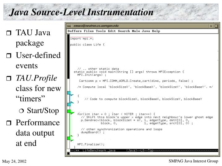 Java Source-Level Instrumentation