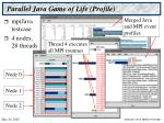 parallel java game of life profile