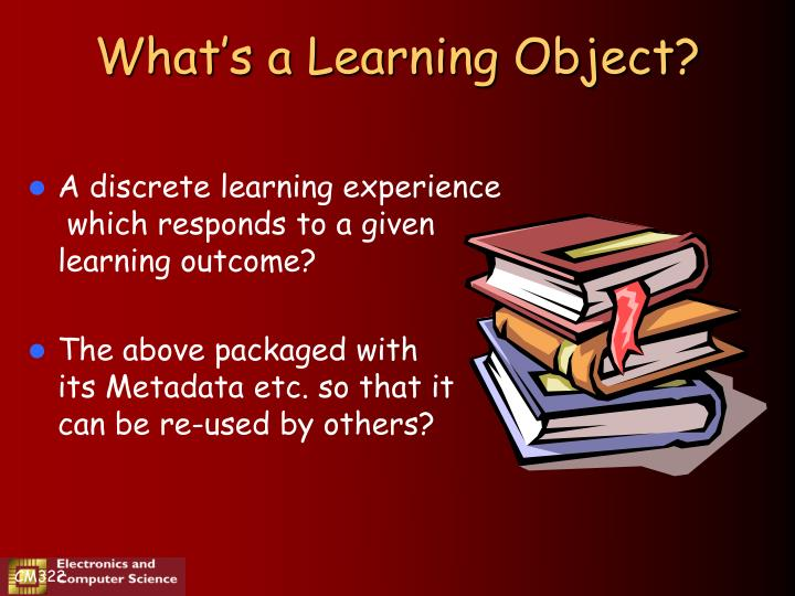 What s a learning object